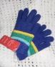 Вязаные детские перчатки