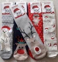 Носки Новогодние махровые