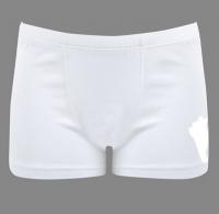 Белые трусики-бокснры