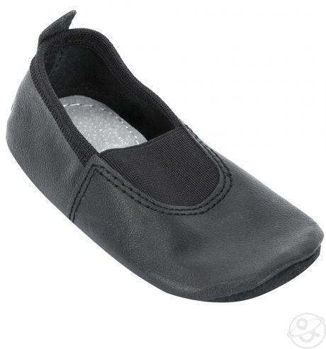 Чешки кожаные чёрные.