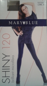 Mary Blue Shiny Колготки 120 D