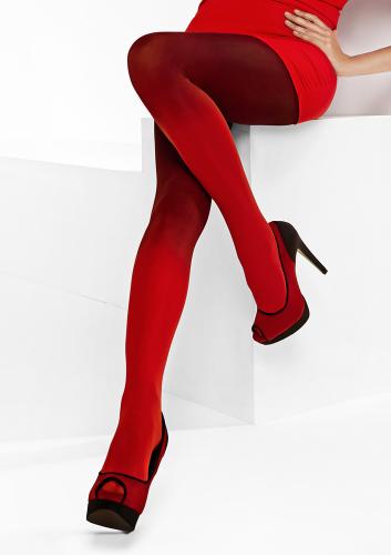 LORES 100 D Колготки красного цвета