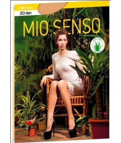 """Колготки Mio Senso """"LIME"""" 20 Den р-р 6"""