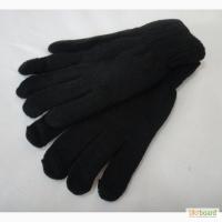 Черные женские перчатки Корона